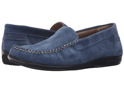 ARCOPEDICO Alice Navy Suede Shoes Blue LYCbcLbG