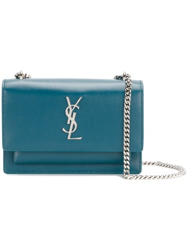Chain Saint Sunset Laurent Blue Wallet wRxq145Eq