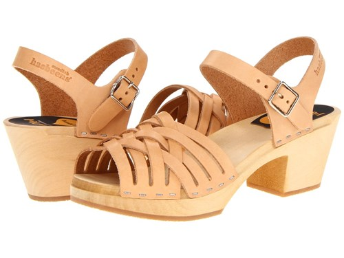 Mule High Shoes Swedish Clog Nature Hasbeens Neutral Braided wgnxPXZ