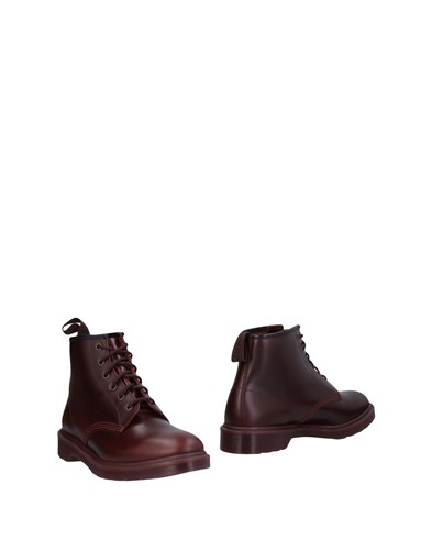 Dr. Martens Ankle Boots Maroon dpluUQ3G