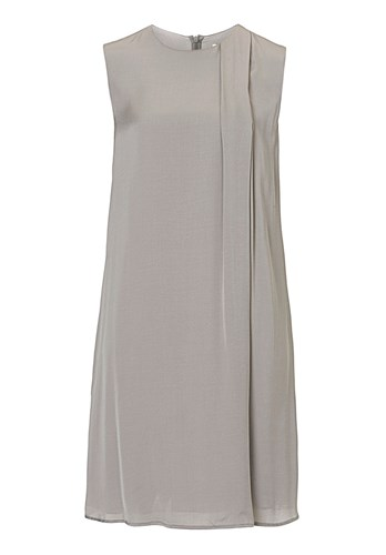 amp; Shift Dress Satin LQPt3XAFO8 Grey Betty dqTHUwdO