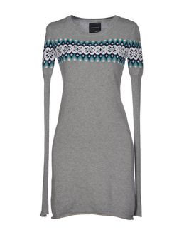 SANTAFE Short Dresses Grey npnnksRx4