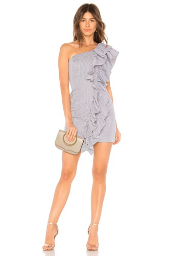 C/meo Collective Together Again Mini Dress Navy 74xc9hK