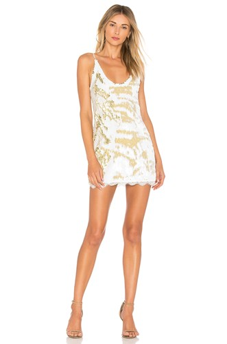 Free People Seeing Double Sequin Slip Dress White mpWz0YFbBd