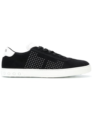 Tod's Perforated Sneakers Black hjh3wew0Cc
