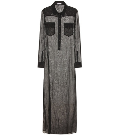 Tomas Maier Long Shirt Dress Black w9Kjiij0Ad