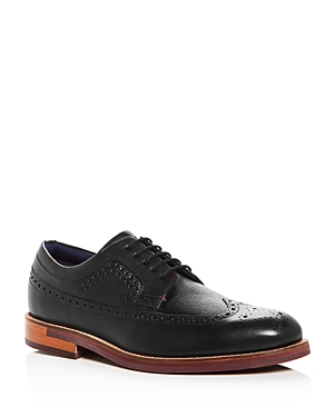 Ted Baker Men's Deelani Brogue Leather Oxfords Black c7bu234Tg8