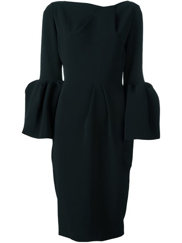 Roksanda Ilincic Margot Dress Black ILL9oG