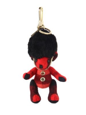 Burberry Cashmere Teddy Bear Charm Parade Red XSNXvUHA2