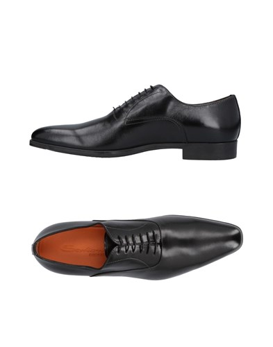 Santoni Lace Up Shoes Black xE8UgBDQ