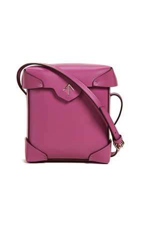 MANU Atelier Mini Pristine Box Bag Fuchsia CL667f44