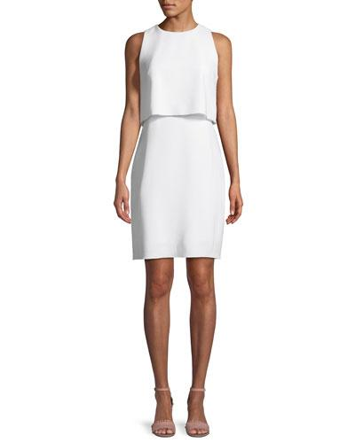 Stargazer Dress Elie Georgette Popover Kristine Tahari With BOZUBH