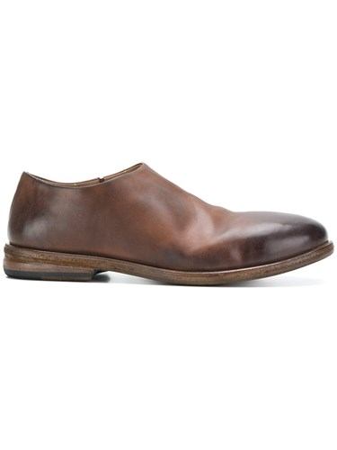 Marsèll Minimal Monk Shoes Leather Brown jvggVnWy
