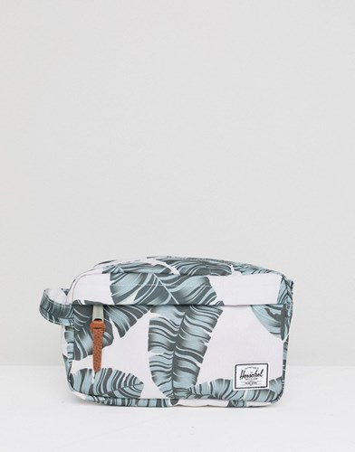 Palm Chapter Herschel Supply Print Beige Co Wash Bag In 5L qwYwRT