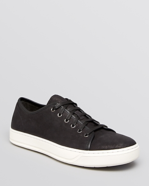 Vince Austin Washed Nubuck Sneakers Black 7sRfD63ea
