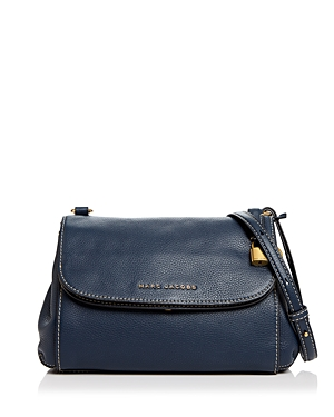 Marc Jacobs The Boho Grind Leather Crossbody Blue Sea Gold pCOblRxx