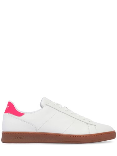 ROV Leather Honey Sole Sneakers White Pink saww77NFM