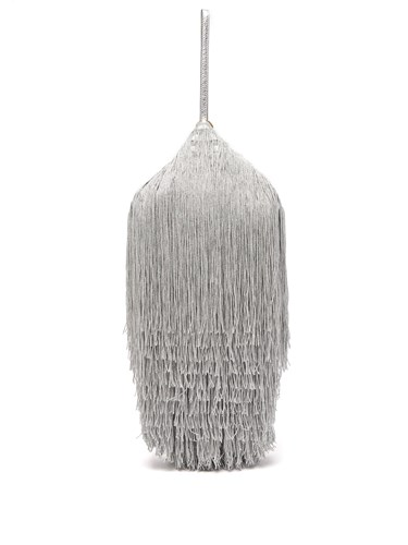 Hillier Bartley Lantern Tassel Embellished Bag Silver 5blrJ