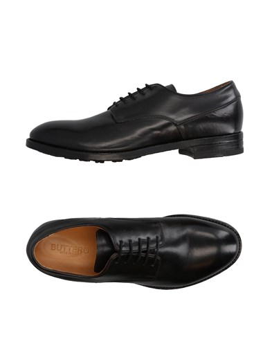 Lace Shoes Up Buttero Black Footwear A4qEw5