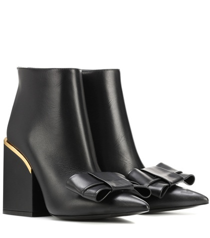 Marni Leather Ankle Boots Black pFSd7cxA2w