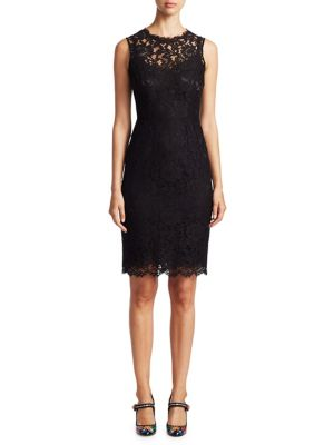 Dolce & Gabbana Jackie Lace Dress Black z7TXcLzBlY