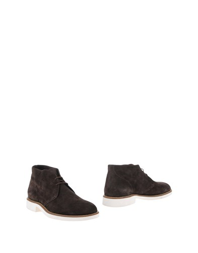 Doucal's Ankle Boots Cocoa 2F278VSwB