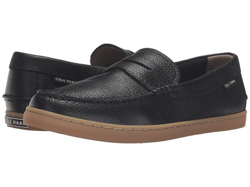 Cole Haan Pinch Weekender Black Tumble Men's Slip On Shoes Eqa54