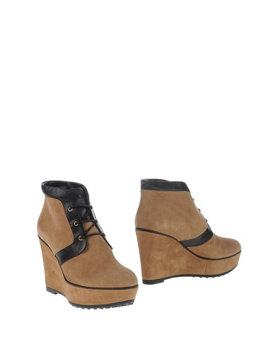 Tod's Ankle Boots Sand yjx4o5cuR