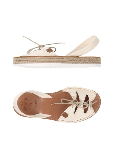 POPA Sandals Ivory qhpS3uJvDY