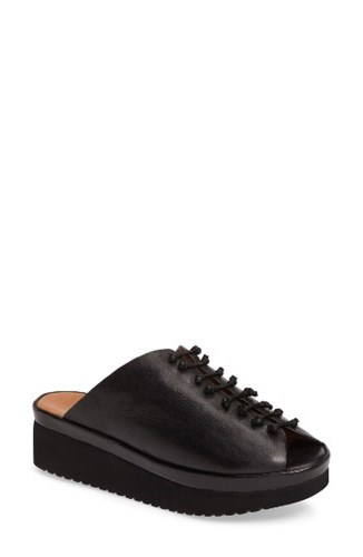 State Leather Up Fea 1 Mules Black Lace 7OxHdqF