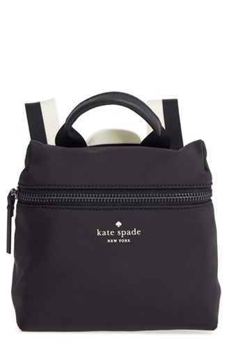 Kate Spade New York That's The Spirit Mini Nylon Crossbody Bag Black 06JPeomDOg