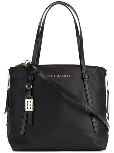Marc Jacobs Zip That Shopping Tote Black OdtBWY6