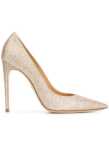 DSquared Dsquared2 Glittered Pumps Nude And Neutrals SUp469