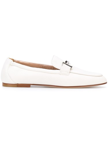 Tod's Gommino Loafers Leather White FqLXzX0Pw
