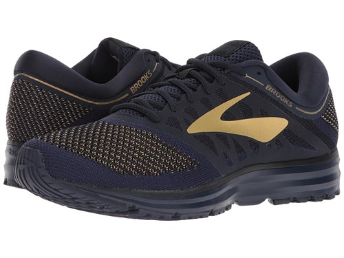 Revel Black Gold Navy Shoes Running Brooks 4Yq1wx