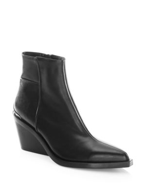 Rag and Bone Santiago Leather Boots Black hMoBlt0CNd