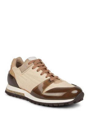 Acne Studios Jimmy Low Leather Sneakers Beige geYTQxmw0u