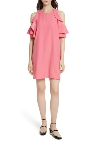 Kate Spade 'S New York Cold Shoulder Shift Dress Petunia jij5NtSTy