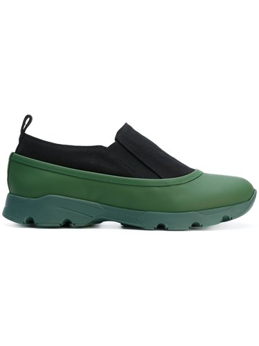 Marni Colour Block Sneakers Green 9DtAdOVHs
