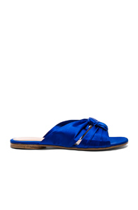 Blue Sandals Rossi Gianvito Blair Satin Knot In ywUBF174q