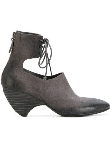 Marsèll Livellina Ankle Boots Leather Suede Rubber Grey mhyMFUB