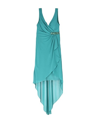 FABIANA FERRI Knee Length Dresses Emerald Green DBIJuCs8