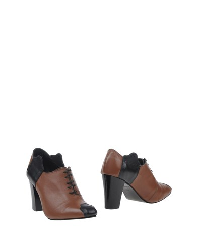 ALEX SCHRIJVERS Lace Up Shoes Brown rEveUJHj2D
