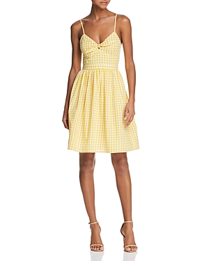 And Rose Dress Flare Gingham Dandelion Fit Endless FR4w0nqn