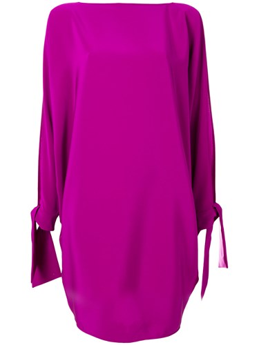 Cape Gianluca Purple Dress Pink And Capannolo Rq5xwUfxO