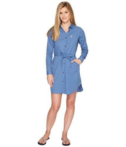 Fjäll Räven Fjallraven Ovik Shirtdress Blue Ridge DwSFhdv71R