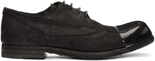 Officine Creative Black Bubble Derbys ldc2f
