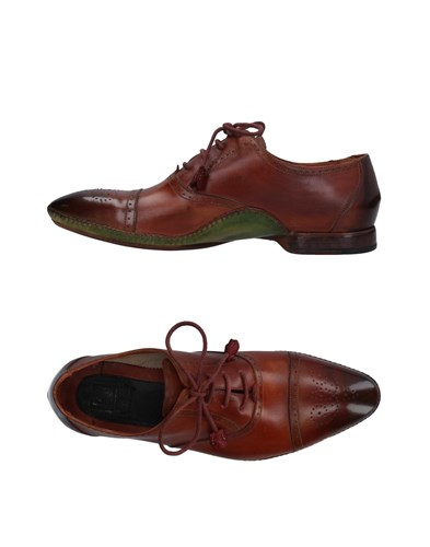 ZENOBI Footwear Lace Up Shoes Brown T9yMbTi7Qy