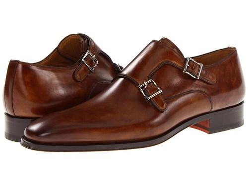 Magnanni Miro Tobaco Plain Toe Shoes Brown uvoJz