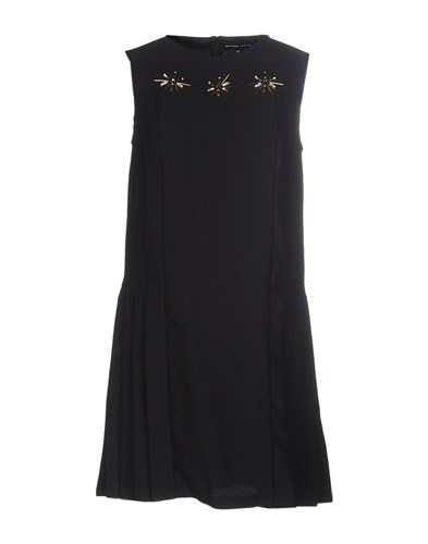 Markus Lupfer Short Dresses Black 2V57XR1